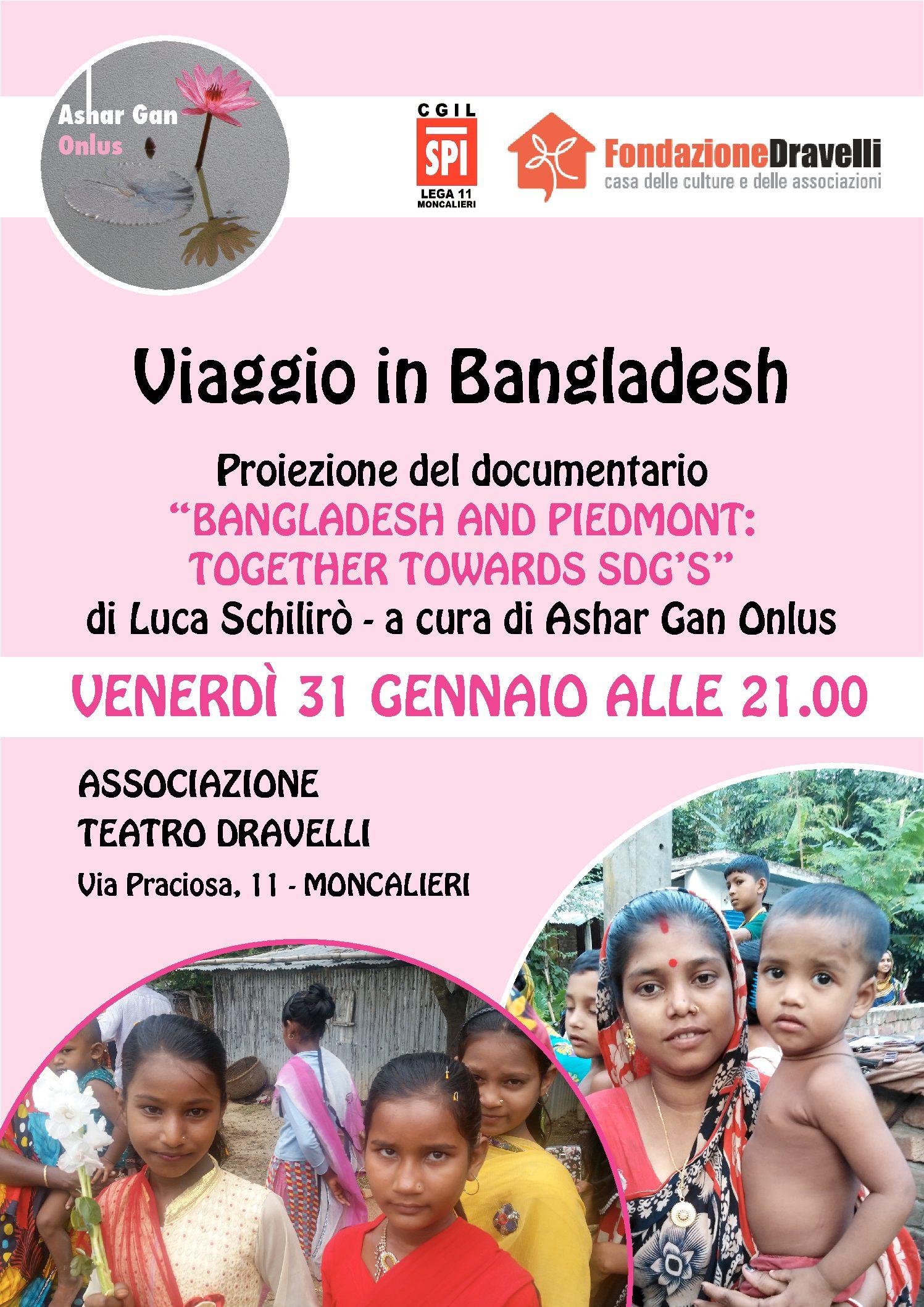 Viaggio in Bangladesh – 31/01/2020 Moncalieri