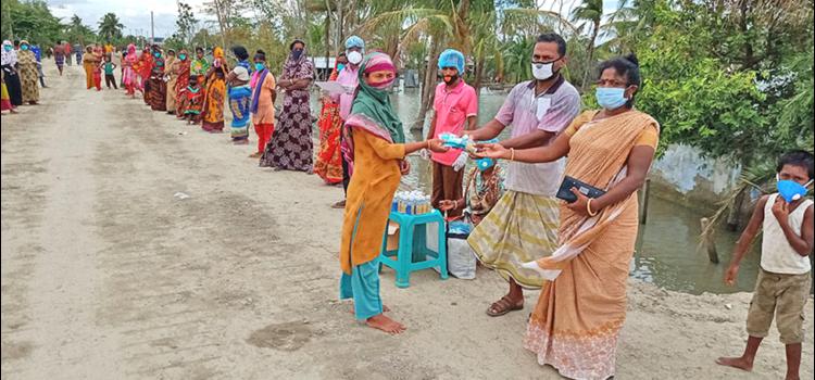 Report distribuzione aiuti DALIT – Emergenza COVID19 Bangladesh